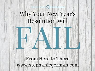 Why Your New Year's Resolution Will